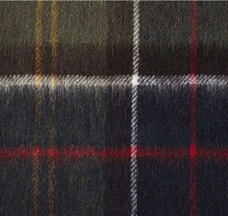 Women's Scarves & Wraps - Classic Merino Cashmere Tartan Scarf By Barbour