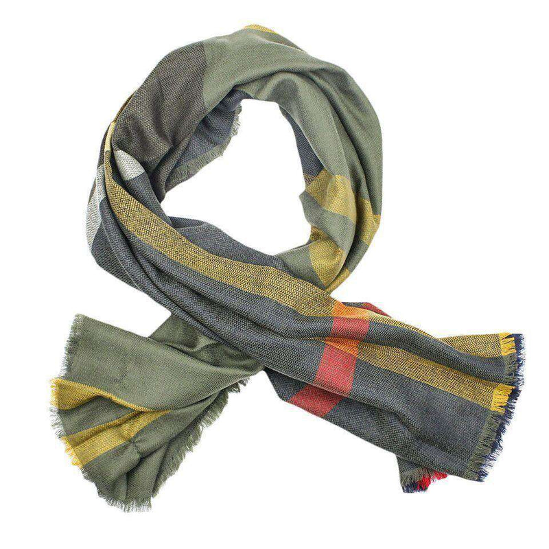 Classic Tartan Square Scarf by Barbour