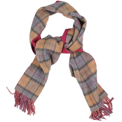 Women's Scarves & Wraps - Double Faced Check Scarf In Dress By Barbour
