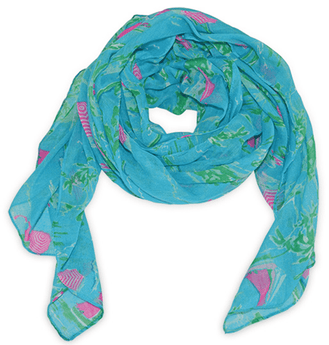 Women's Scarves & Wraps - Island Time Scarf By All For Color