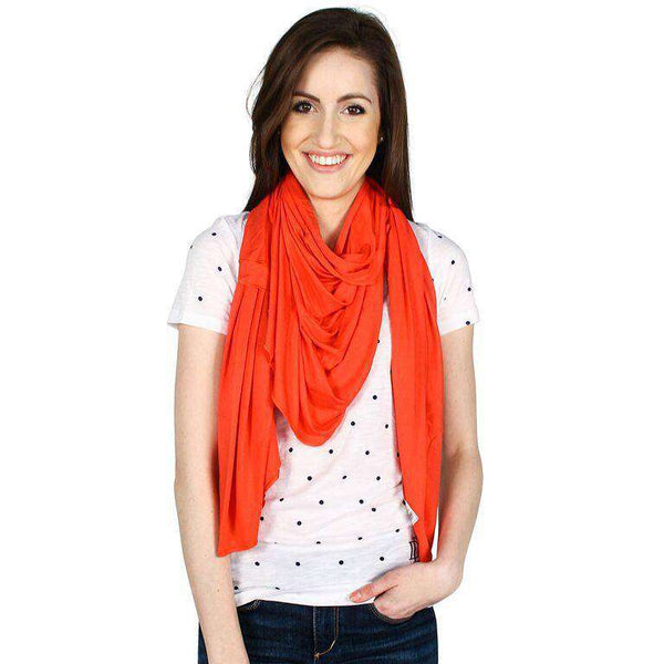 Mayreau Scarf in Light Coral by Hiho - FINAL SALE