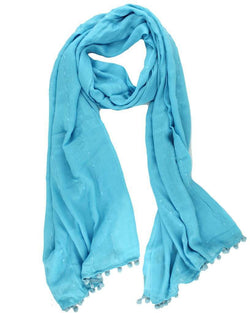 Women's Scarves & Wraps - Pareo Wrap In Bachelor Button Blue By Sperry