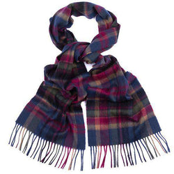 Vintage Winter Plaid Scarf by Barbour