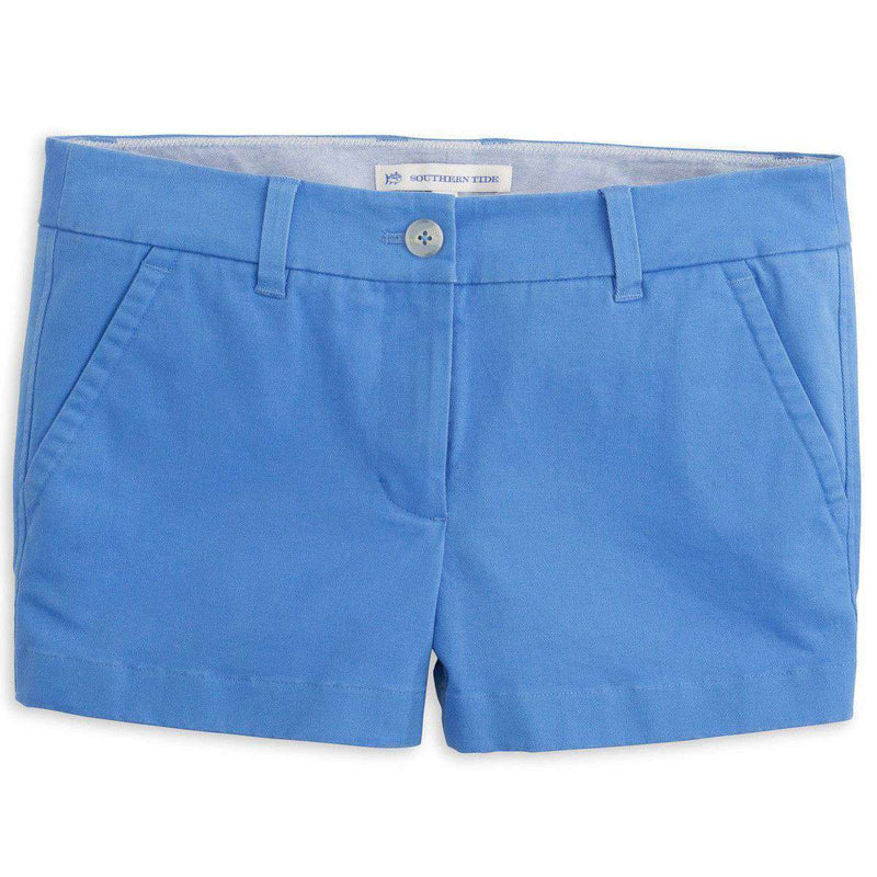 "Women's Shorts - 3"" Leah Short In Blue Stream By Southern Tide - FINAL SALE"