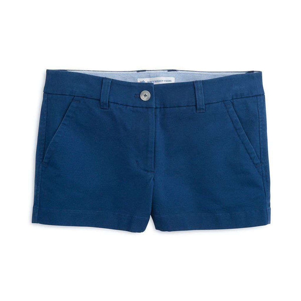 "Women's Shorts - 3"" Leah Short In Nautical Navy By Southern Tide"