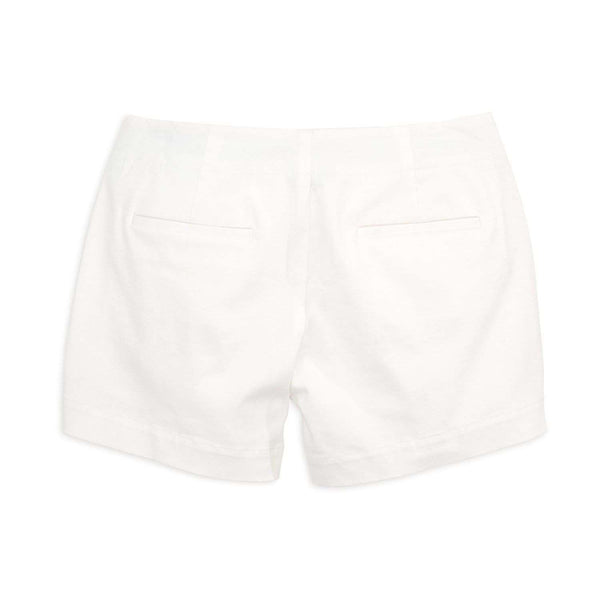 Amelia Nautical Short in Classic White by Southern Tide - FINAL SALE