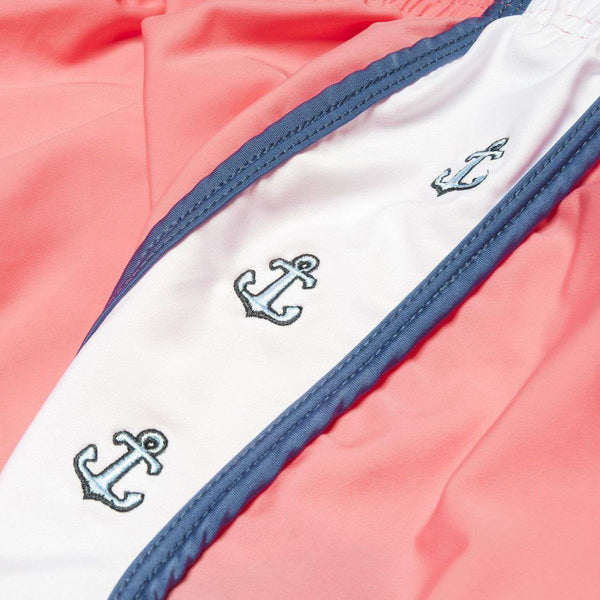 Anchors Aweigh Shorts in Coral by Krass & Co.