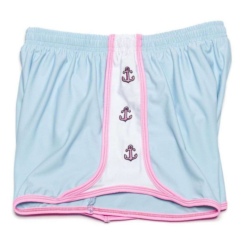 Women's Shorts - Anchors Aweigh Shorts In Light Blue By Krass & Co.