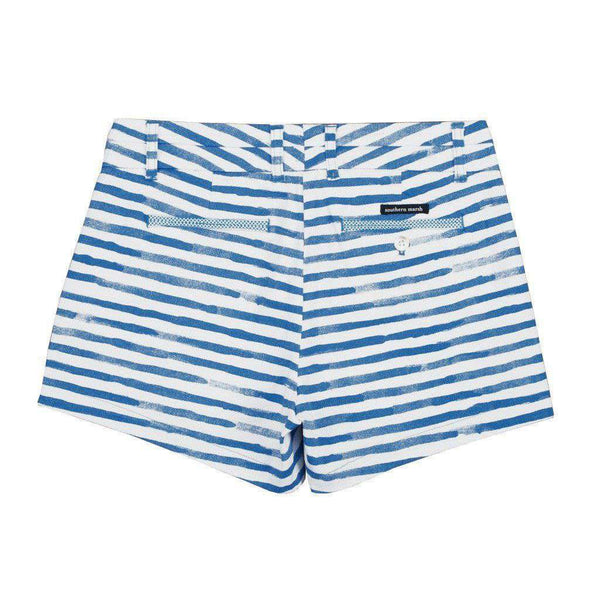 Women's Shorts - Brighton Short In Royal Blue Santorini By Southern Marsh