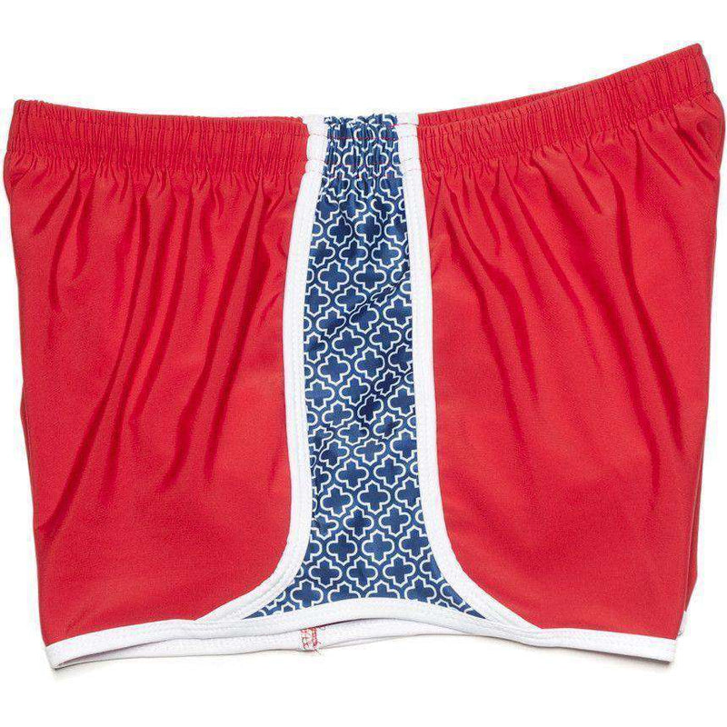 Women's Shorts - Campus Crush Shorts In Red By Krass & Co.