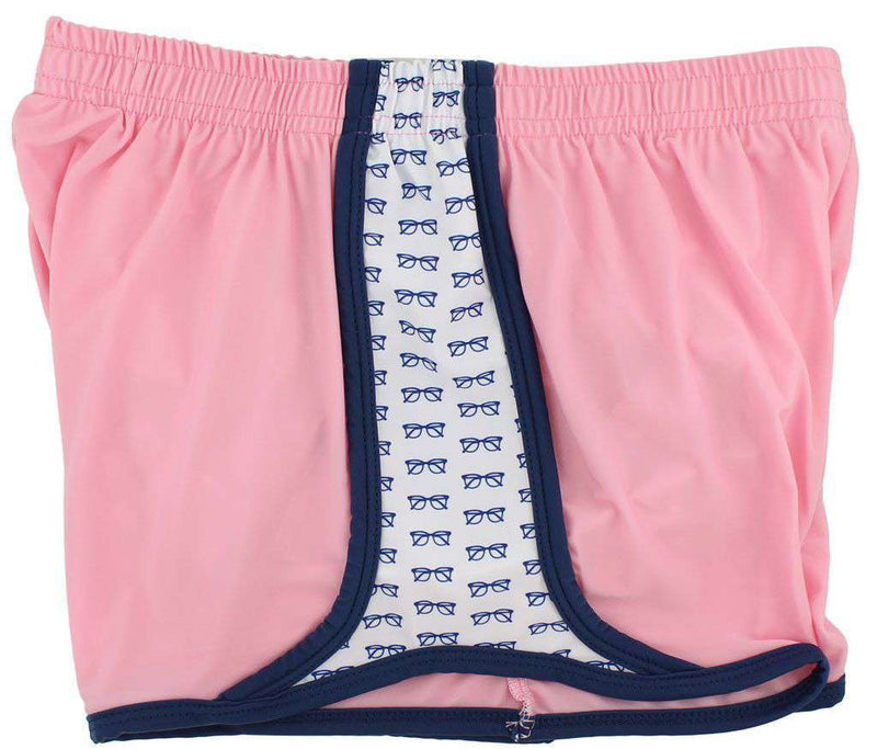 Women's Shorts - College Prepster Shorts In Pink By Krass & Co.
