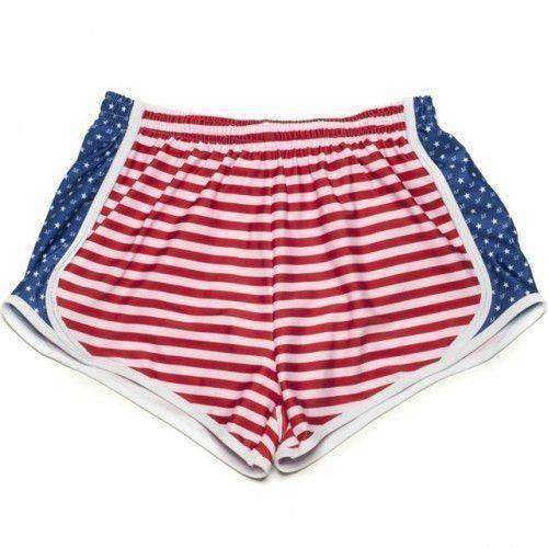 Delta Zeta Shorts in Red, White and Blue by Krass & Co.