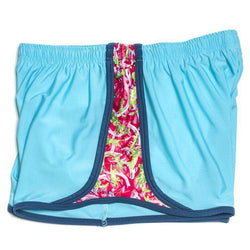 Women's Shorts - FJ Alligator Shorts In Blue By Krass & Co.