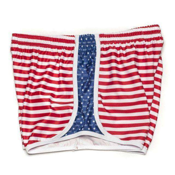 Women's Shorts - Kappa Kappa Gamma Shorts In Red, White And Blue By Krass & Co. - FINAL SALE