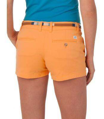 "Ladies Chino 3"" Shorts in Horizon by Southern Tide"