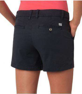 "Ladies Chino 5"" Shorts in Navy by Southern Tide"