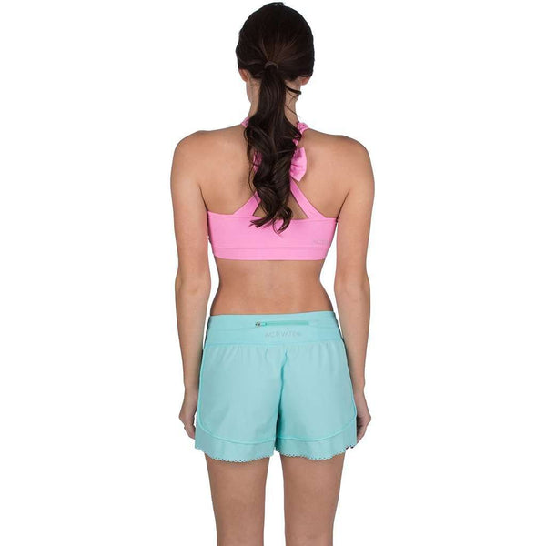 Make the Cut Scallop Short in Ocean Palm by Lauren James