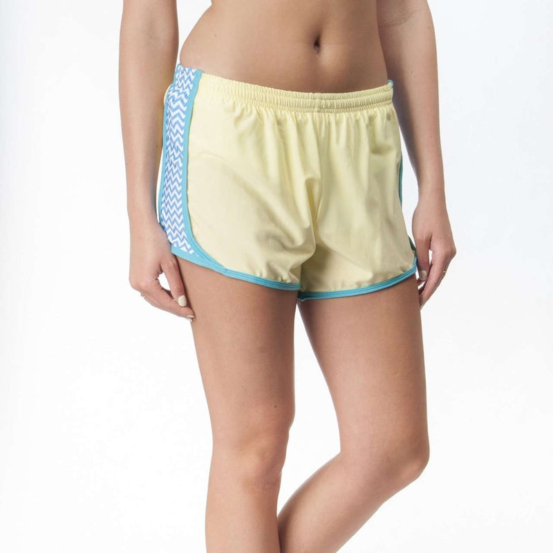 Women's Shorts - Making Waves In Yellow By Krass & Co.