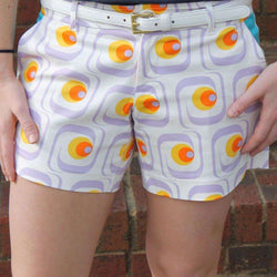 Women's Shorts - Pat Shorts In Gigi White By Tracy Negoshian - FINAL SALE