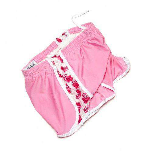 Women's Shorts - Phi Mu Shorts In Pretty Pink By Krass & Co. - FINAL SALE