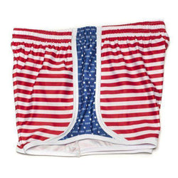 Women's Shorts - Pi Beta Phi Shorts In Red, White And Blue By Krass & Co. - FINAL SALE
