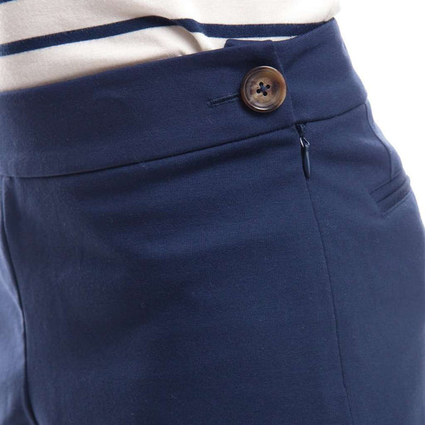 Ponte Shorts in Navy by Sail to Sable - FINAL SALE