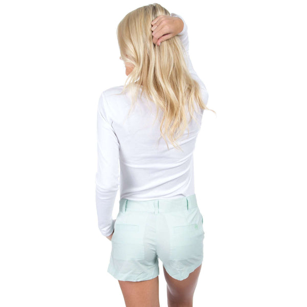 Poplin Short in Mint by Lauren James