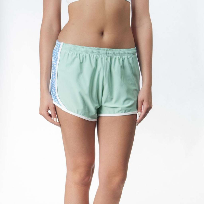 Prep Schools Shorts in Seafoam with Fish by Krass & Co.