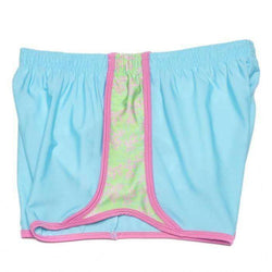 Women's Shorts - Reef Runner Shorts In Island Blue By Krass & Co.