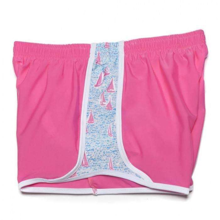 Women's Shorts - Sailors Delight Shorts In Pretty Pink By Krass & Co.