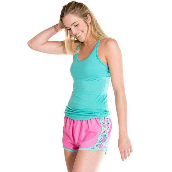Scaled Back Shorts in Pop Pink by Krass & Co. - FINAL SALE