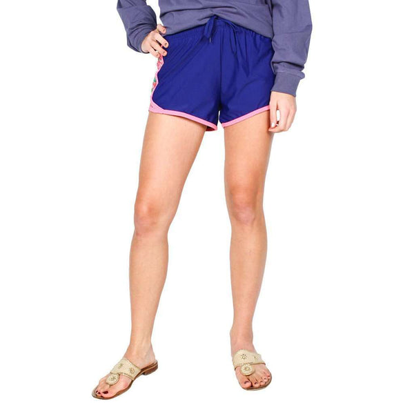 Secret Garden Shorts in Navy by Krass & Co. - FINAL SALE