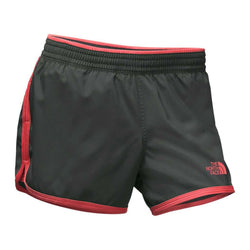 Women's Shorts - Women's Reflex Core Shorts In Asphalt Grey/Cayenne Red By The North Face