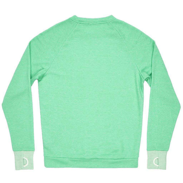 Asheville Terry Sweater in Bimini Green by Southern Marsh - FINAL SALE