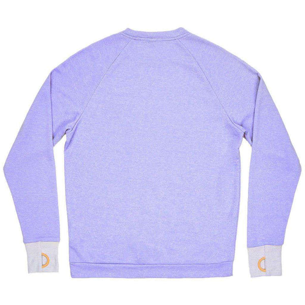Asheville Terry Sweater in Lilac by Southern Marsh - FINAL SALE