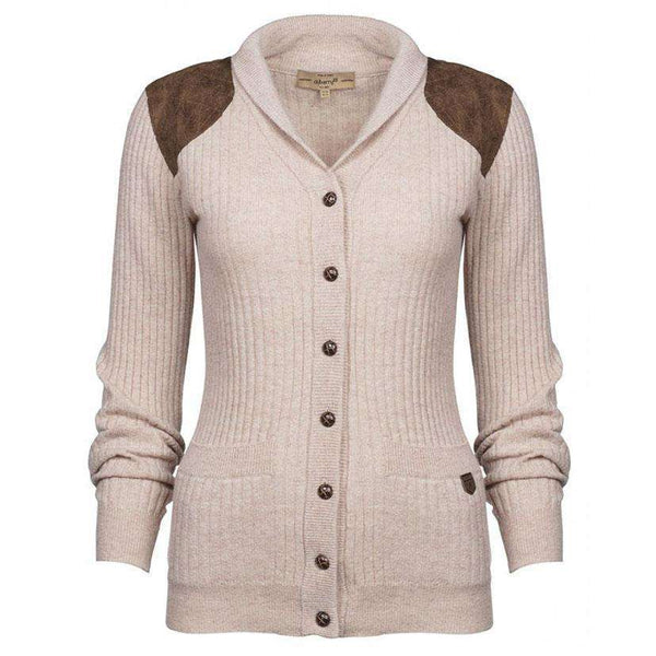 Women's Sweaters - Aughrim Cardigan Sweater In Oatmeal By Dubarry Of Ireland