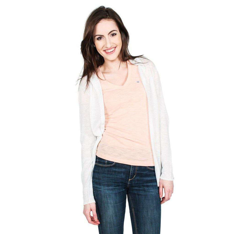 Cooten Bay Cardigan in White by Hiho - FINAL SALE