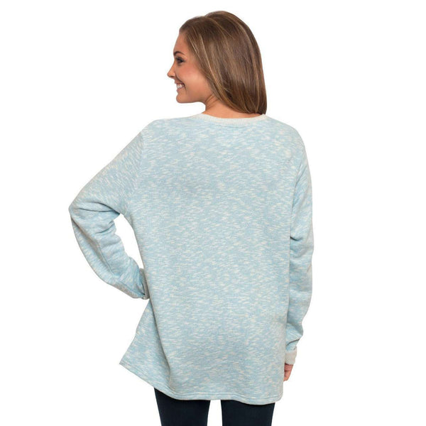 Terry Cloth Pullover in Bonnie Blue by The Southern Shirt Co.