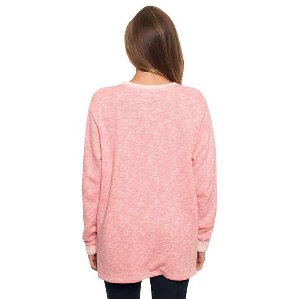 Terry Cloth Pullover in Desert Rose by The Southern Shirt Co.