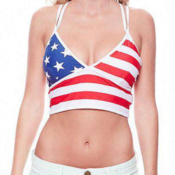 Women's Swimwear - Limited Edition USA Boobypack By Boobypack - FINAL SALE