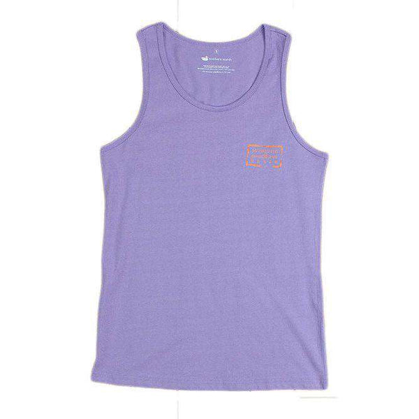 Women's Tee Shirts - Authentic Tank In Lilac Purple By Southern Marsh