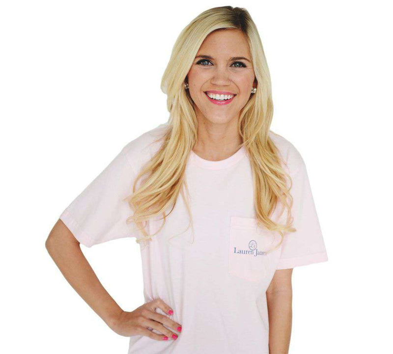 Come Sail Away Tee in Pink by Lauren James - FINAL SALE