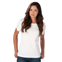 Women's Tee Shirts - Crew Neck Tee In White By Southern Tide