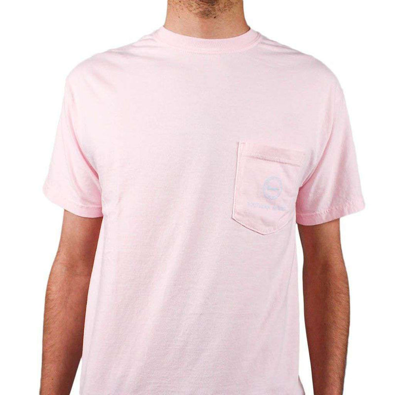 Women's Tee Shirts - Down To Derby Tee In Pink By Southern Proper - FINAL SALE