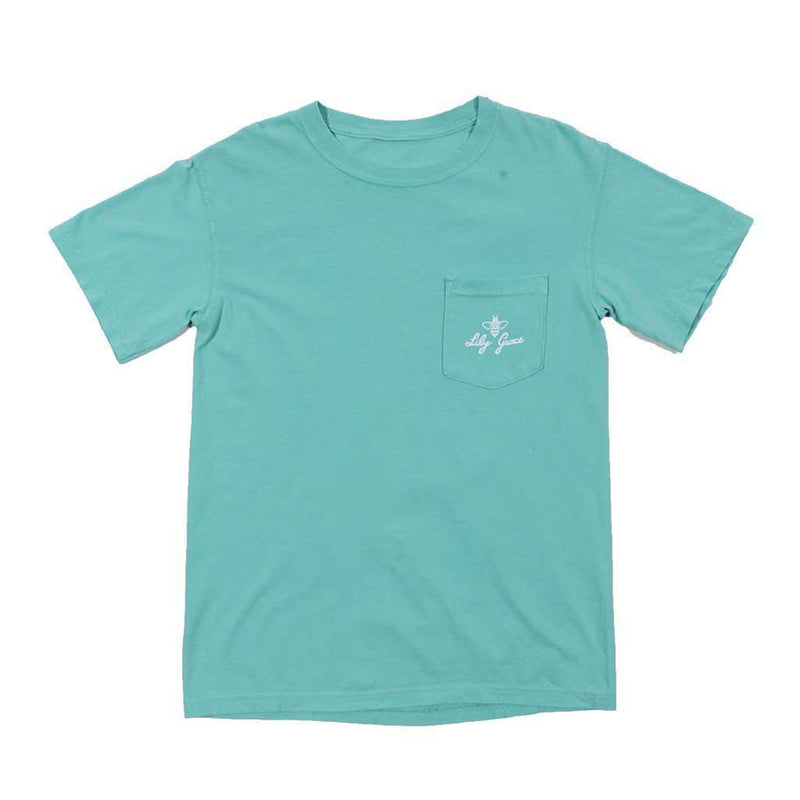 Good Times Elephant Tee in Chalky Mint by Lily Grace
