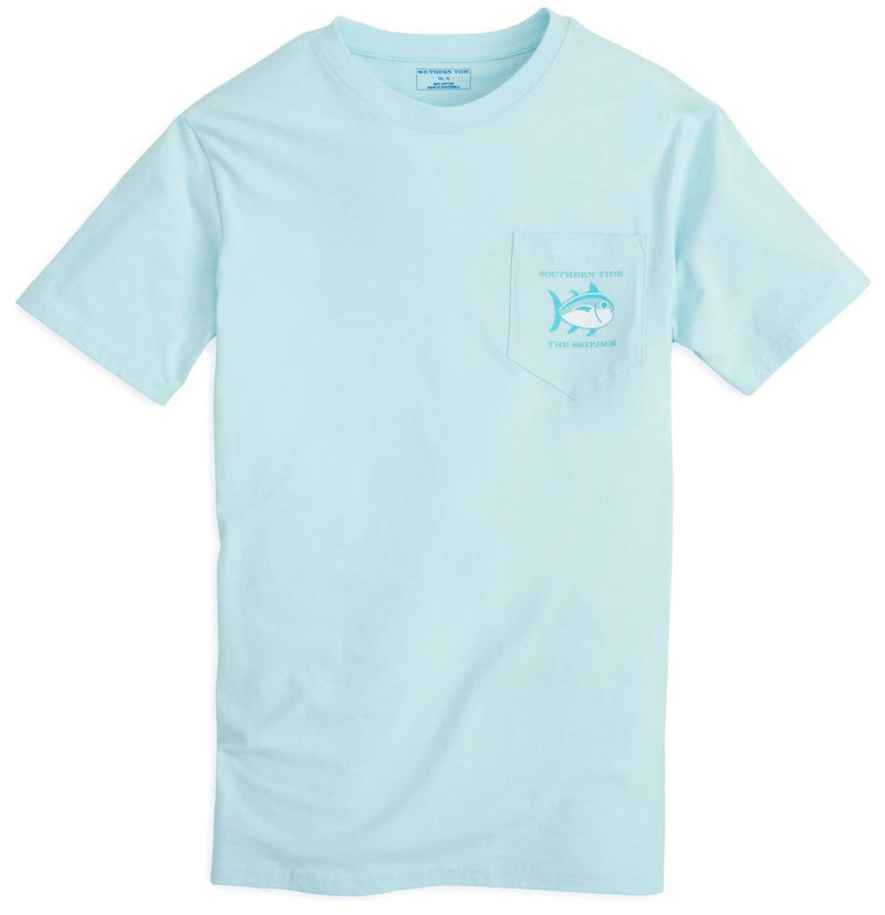 Ladies Original Skipjack Tee Shirt in Pool by Southern Tide