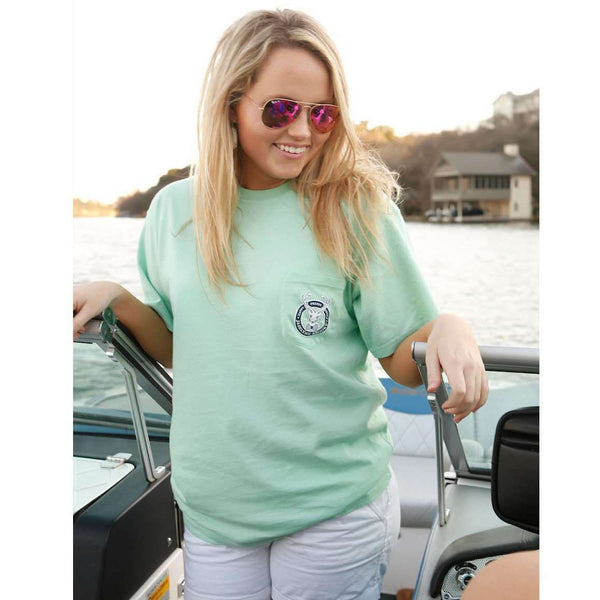 Lake Life is the Best Life Tee in Island Paradise by Jadelynn Brooke