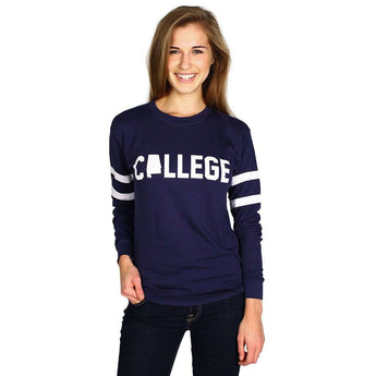 Long Sleeve Alabama College Jersey by Jadelynn Brooke  - 1
