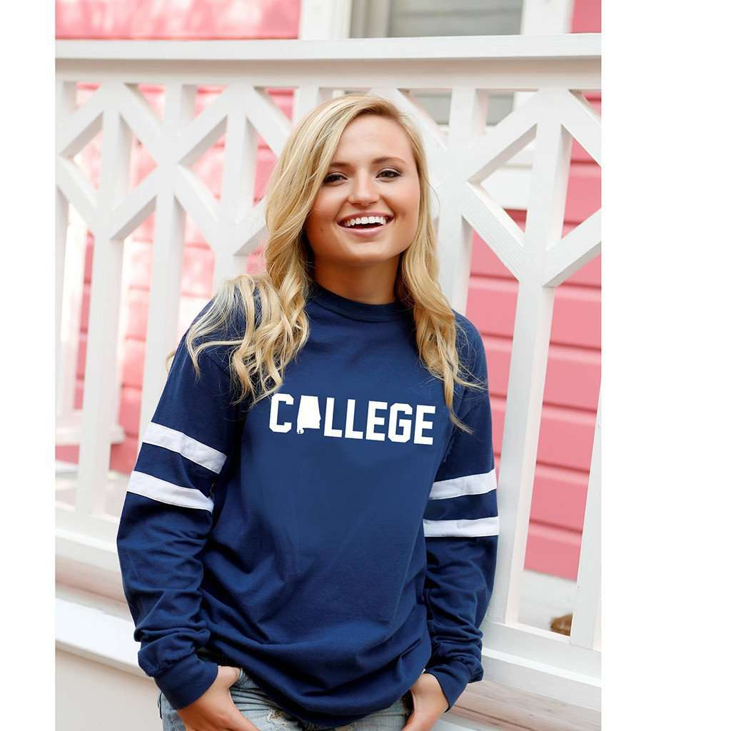 Long Sleeve Alabama College Jersey by Jadelynn Brooke  - 2