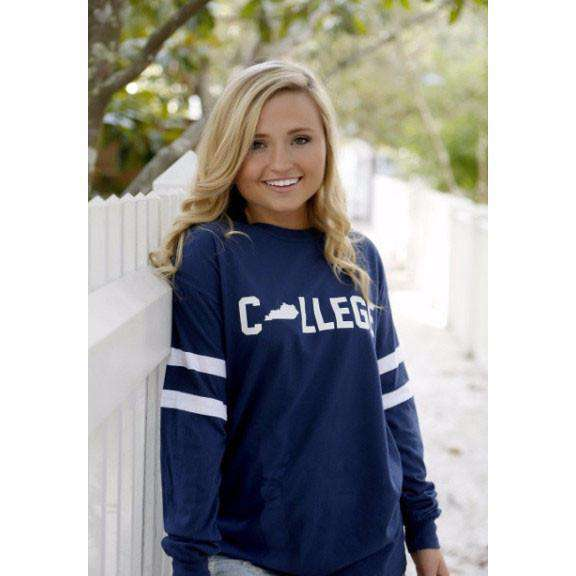 Long Sleeve Kentucky College Jersey by Jadelynn Brooke
